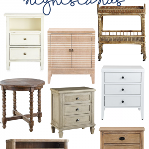 Coastal Inspired Nightstands