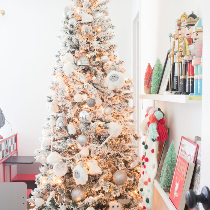 Playroom Christmas Decorating