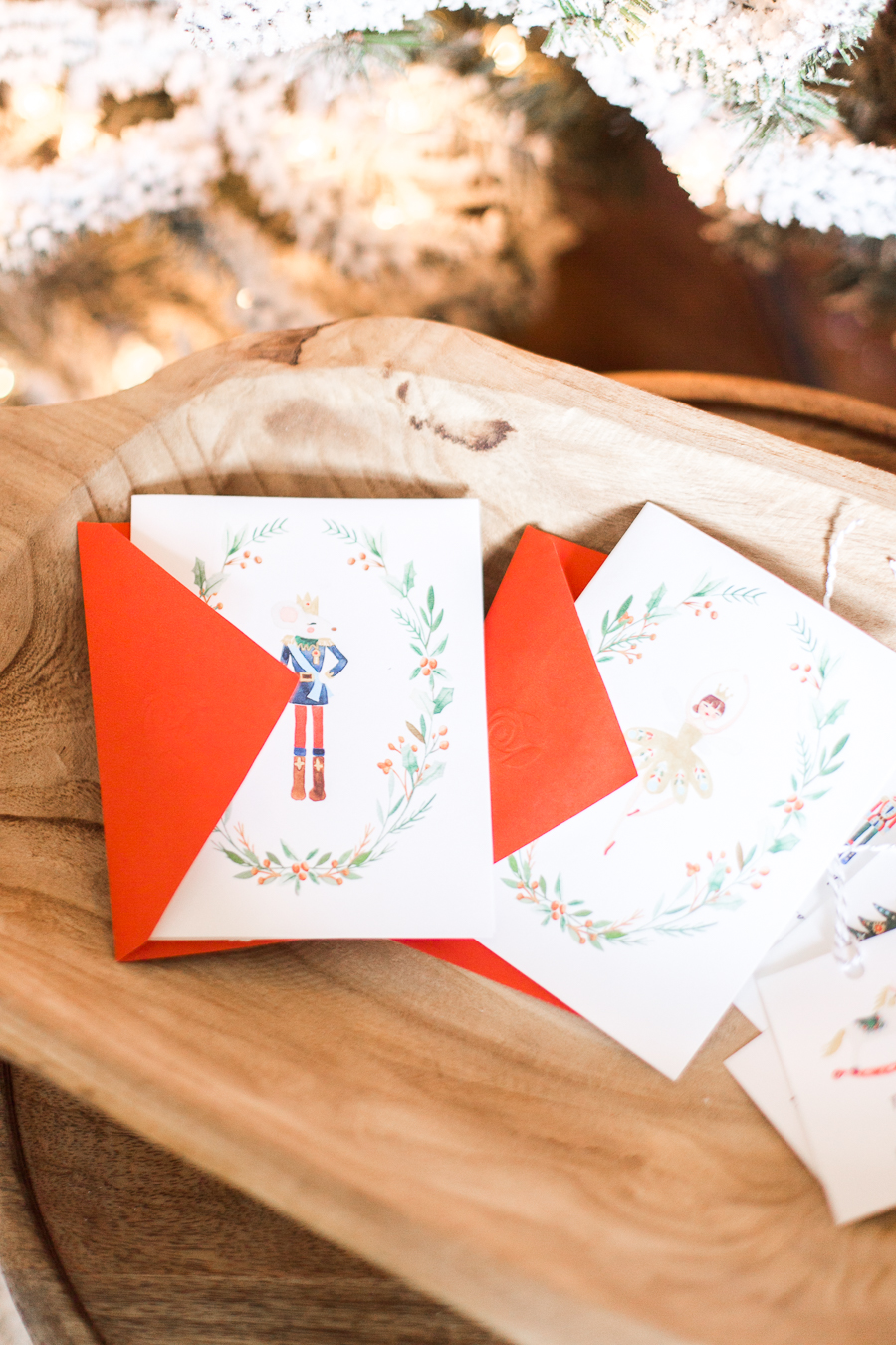 Free Nutcracker notecard printables