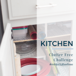 Kitchen Organization – 25 Things to Declutter Right Now