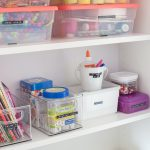Organized Craft Cabinet