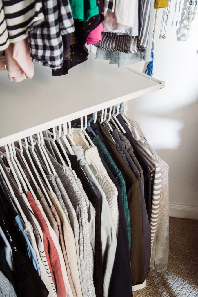 Tips for organizing a small walk in closet