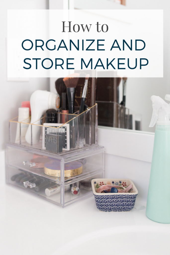 How to store organize makeup - makeup organization ideas