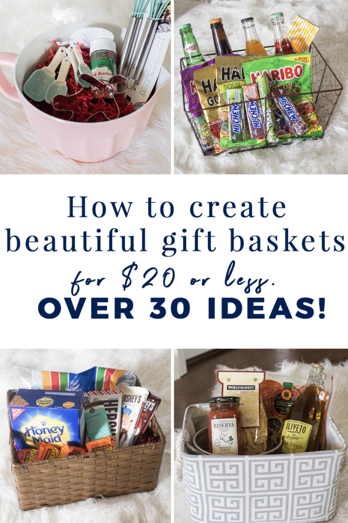 Christmas Gift Baskets 2019.Creative Gift Basket Ideas Under 20