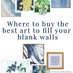Favorite Sources to Buy Art to Fill Your Blank Walls