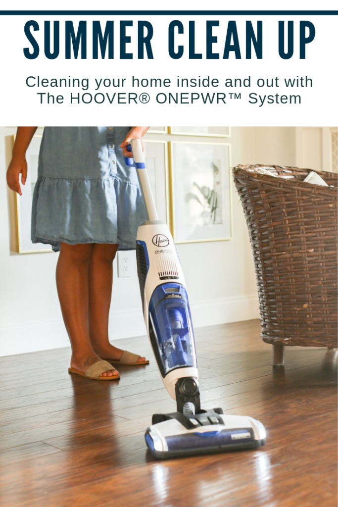 Summer Clean Up with The Hoover ONEPWR system. #ad #ONEPWR #HooverONEPWR #ONEPWRcordless