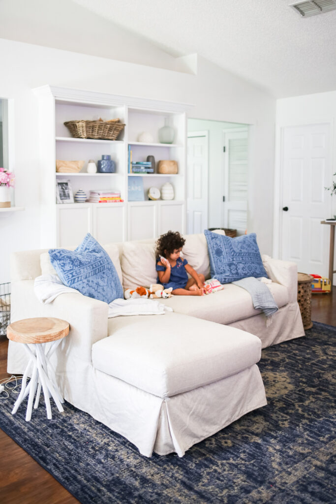 Pottery Barn Sectional Review - A review of the York Sofa with Chaise