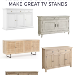 TV Stand Ideas – Buffets and Sideboards that work as TV Stands
