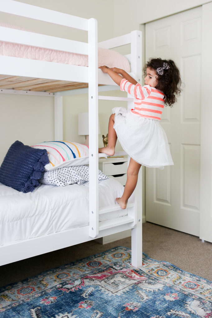 Bunk Beds for Girls - Beautiful and affordable bunk bed options for a girls room