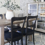 Black Dining Chairs – Contrasting Dining Table and Chairs