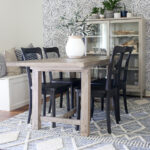 Our Coastal Inspired Dining Room