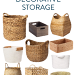 The Best Decorative Baskets for Storage