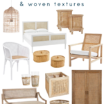 Trending: Cane Furniture and Woven Textures