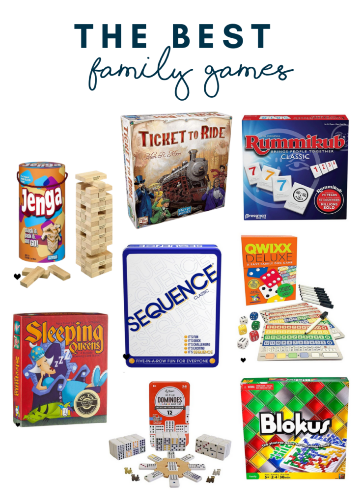 The best family games - family favorites for adults and kids alike