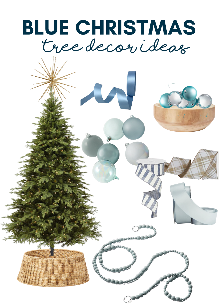 Blue Christmas Tree Decorating Ideas For A Nontraditional Christmas Tree