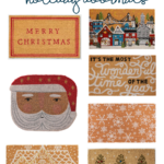 Festive Holiday Doormats