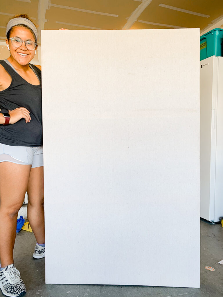 How to make a giant canvas DIY project
