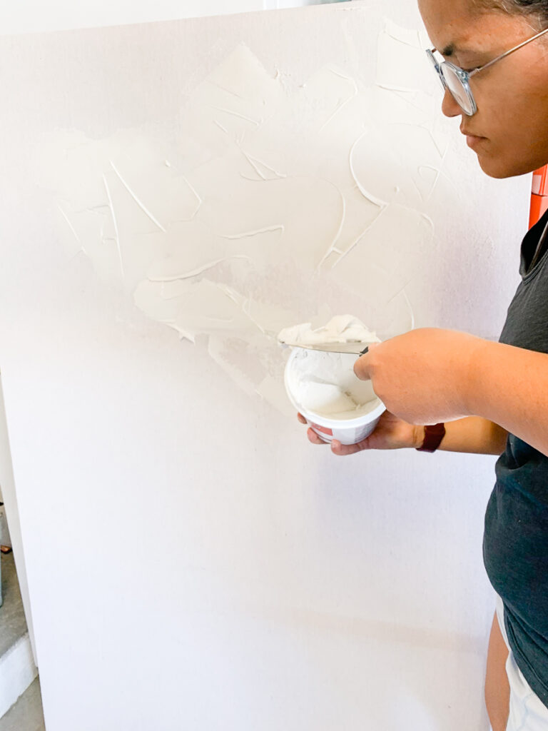 How to make a large scale canvas