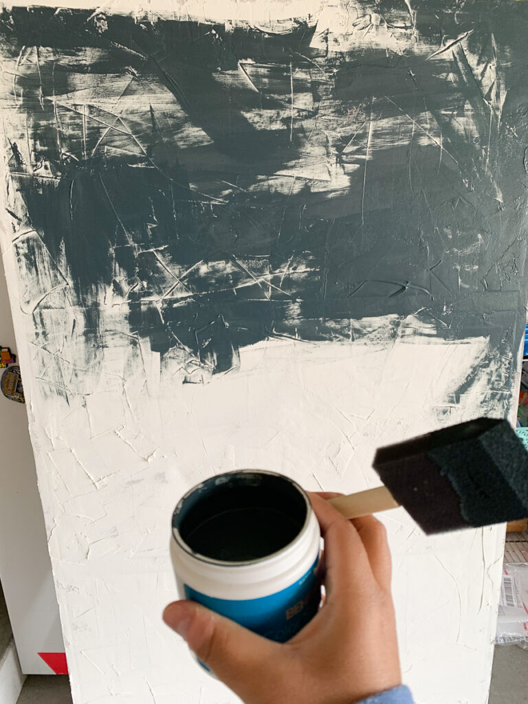 How to Paint a large scale canvas