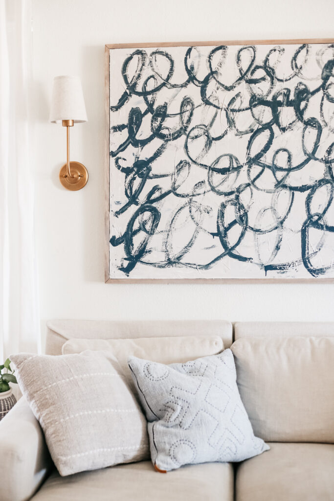 A DIY Canvas Tutorial - How to make your own large scale artwork