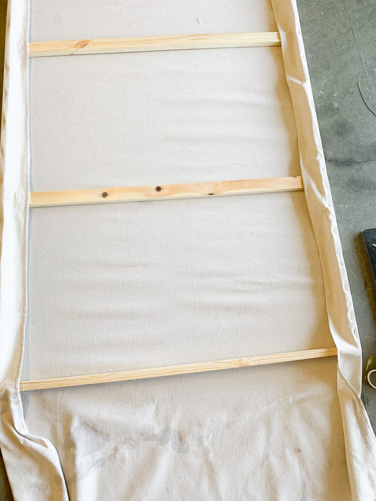 DIY Large Scale Canvas Painting