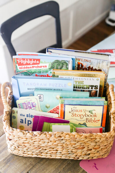Our Homeschool Schedule - Morning Basket Ideas