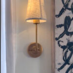Rental Lighting Hack – How to Faux Install Sconce Lighting