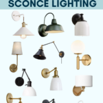 Affordable Sconce Lighting – $100 or less