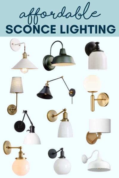Affordable Sconce Lighting