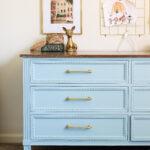 Blue Painted Dresser – Painted Dresser Ideas