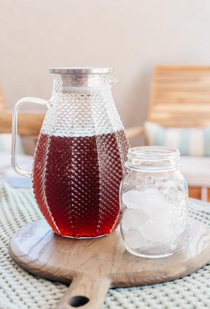 How to make sweet tea sun tea