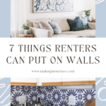 How to Decorate Blank Walls 7 Ideas for Renters
