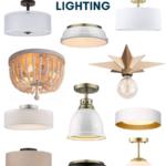 Where I Find Affordable Flush Mount Ceiling Lights