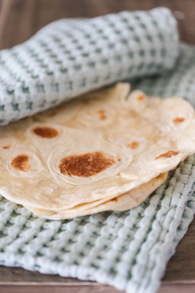 Homemade Flour Tortillas - elevate your everyday taco night with this flour tortilla recipe