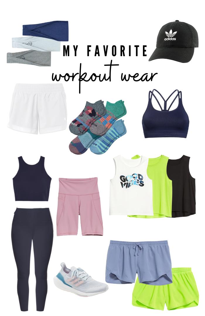 My favorite workout wear